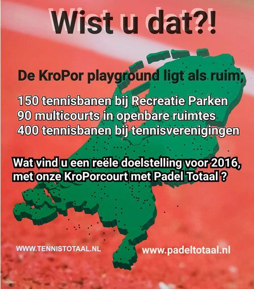 kropor playground 90 multicourt 550 tennisbanen